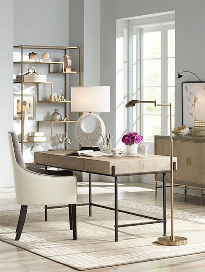 96 Modern Home Office Design Looks Elegant 65