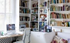 96 Modern Home Office Design Looks Elegant 68