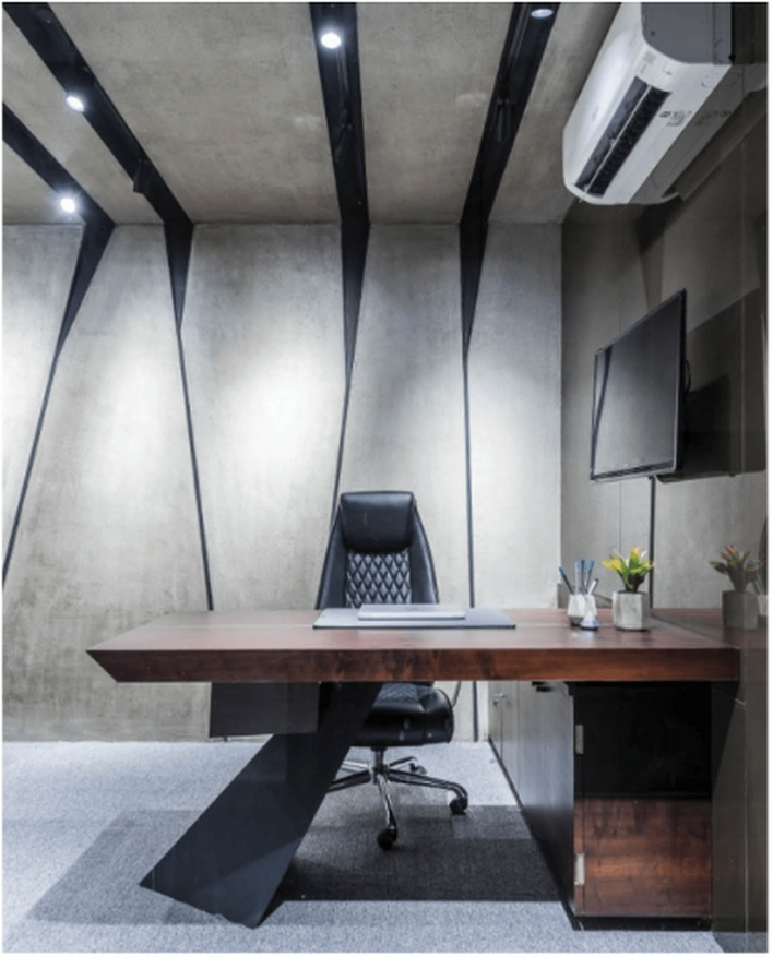 96 Modern Home Office Design Looks Elegant 76
