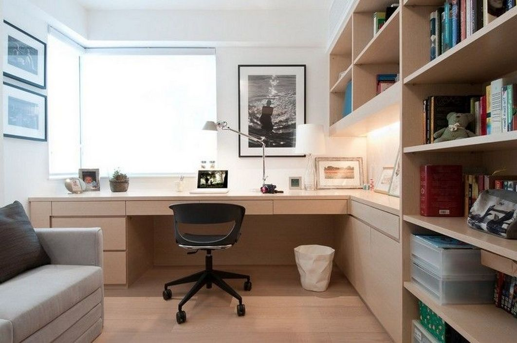 96 Modern Home Office Design Looks Elegant 77