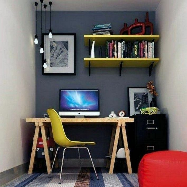 96 Modern Home Office Design Looks Elegant 91