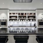 Beautifull Totally Modern Black And White Kitchen 27