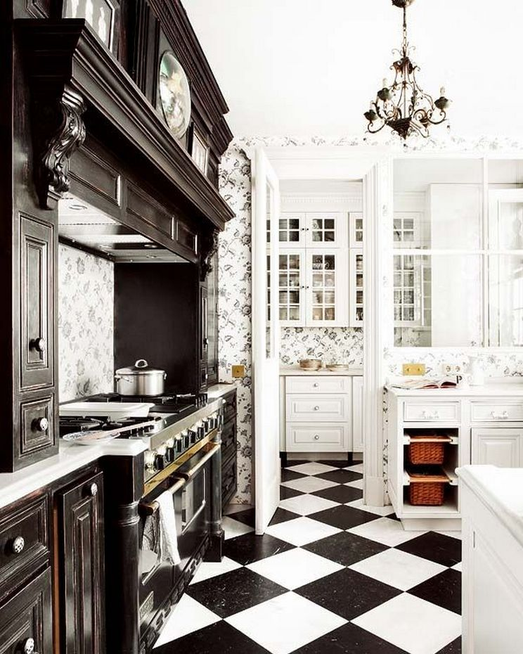 Beautifull Totally Modern Black And White Kitchen 72