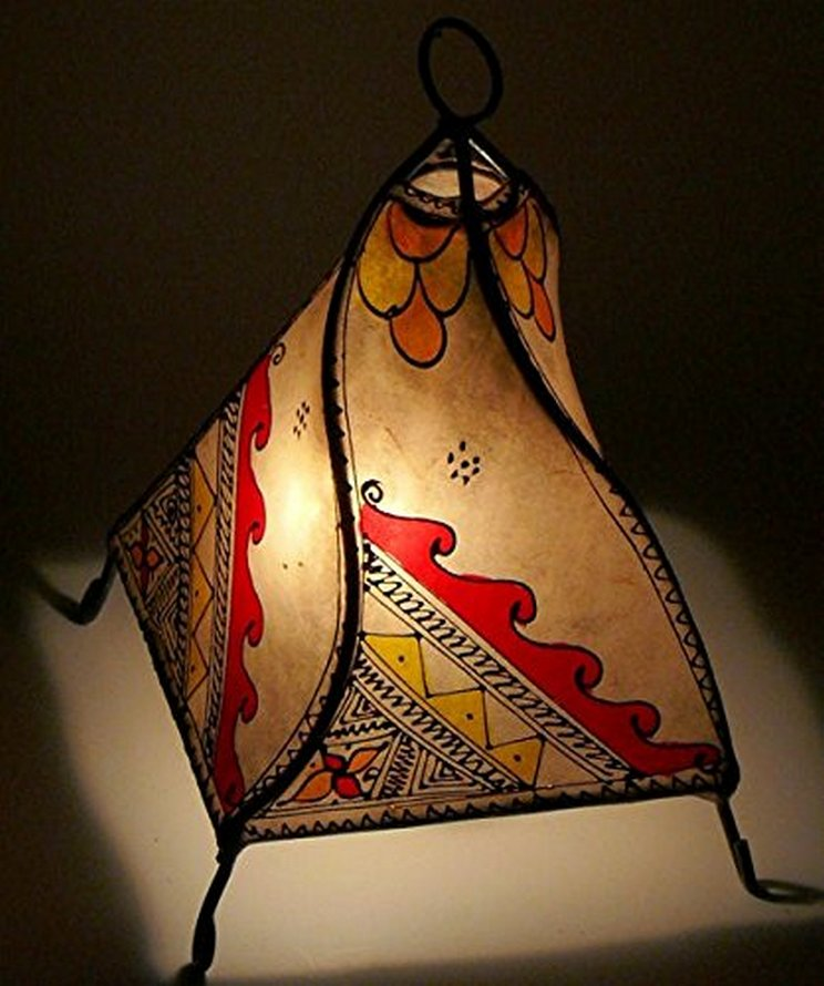 Breathtakingly Beautiful Moroccan Henna Lamps 20