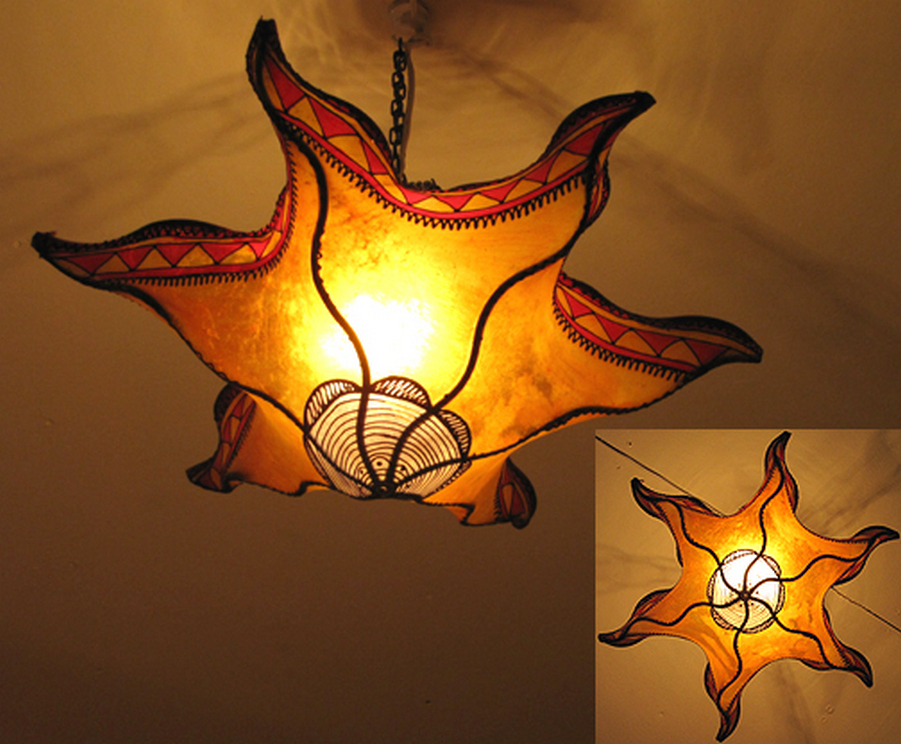 Breathtakingly Beautiful Moroccan Henna Lamps 29