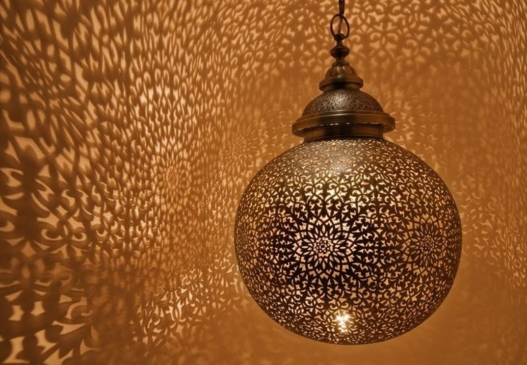Breathtakingly Beautiful Moroccan Henna Lamps 58