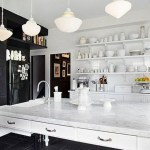Tips For Creating Beautiful Black Or White Retro Themed Kitchens 26