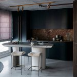 Tips For Creating Beautiful Black Or White Retro Themed Kitchens 62