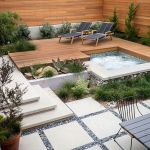 91 Small Backyard Landscape Decoration Models Are Simple And Look Creative 22