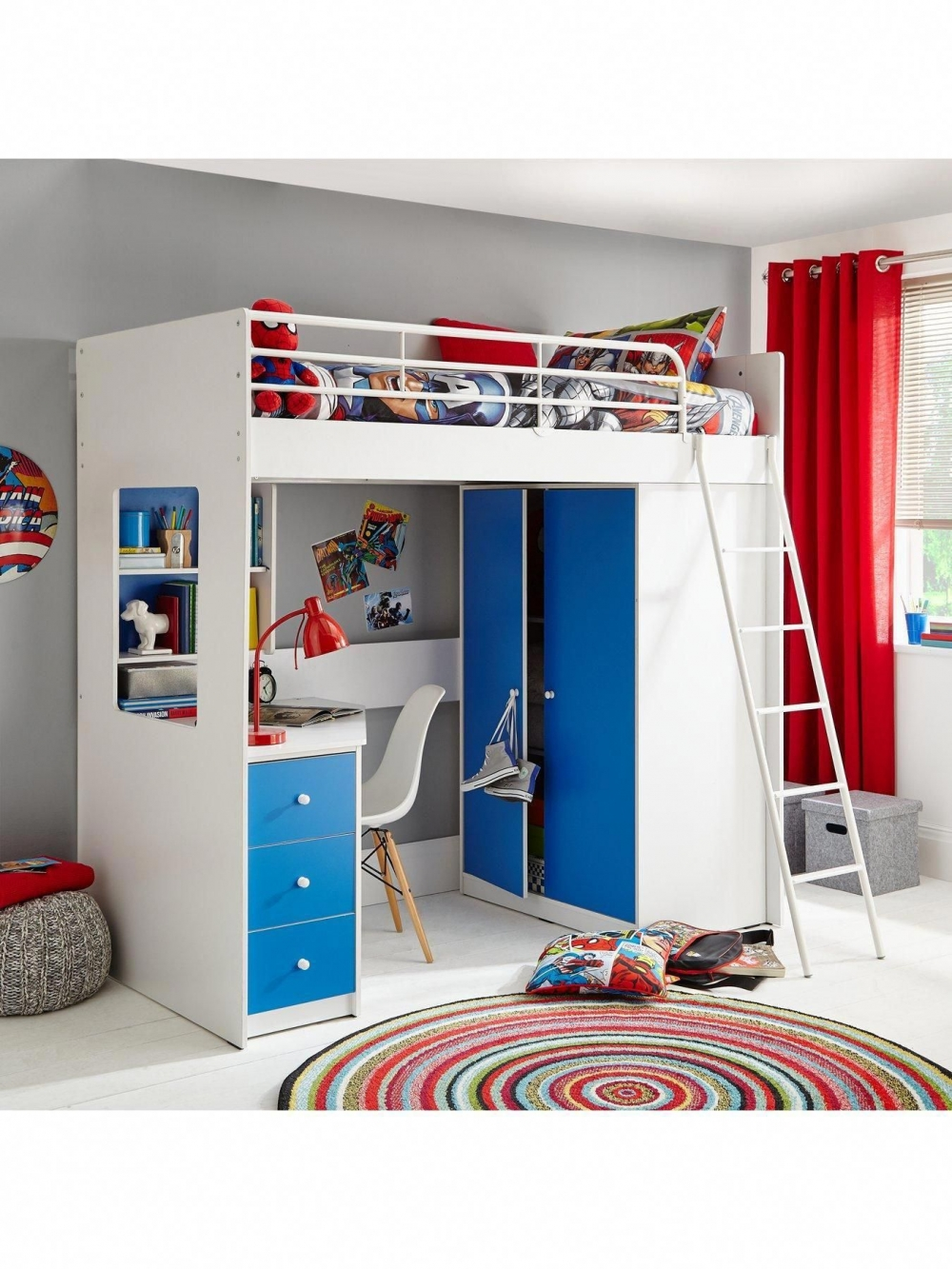 of bunk bed with desk and drawers on bunk bed with desk and drawers post on 2020-12-20 14:17:18