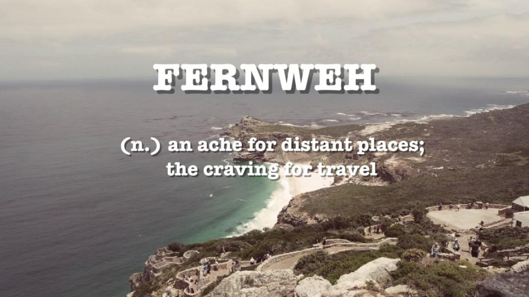 Fernweh: mijn favoriete Duitse woord