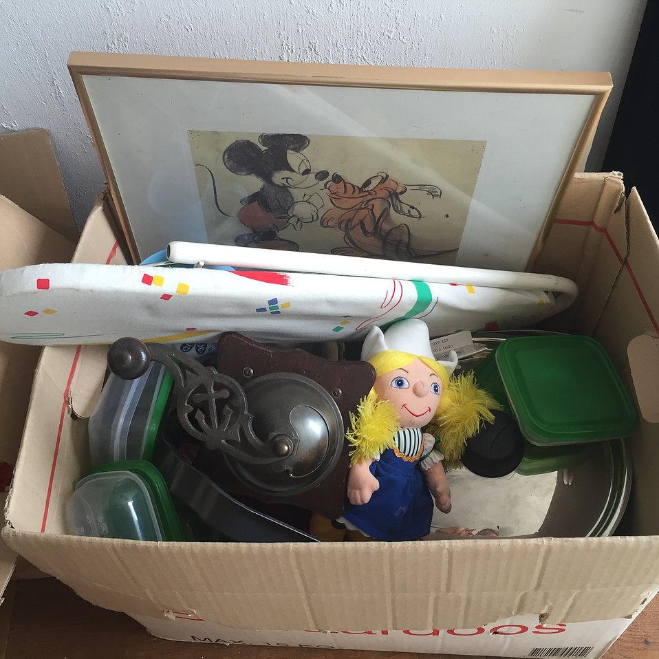 Marktplaats tip: Rommelmarktspullen laten ophalen