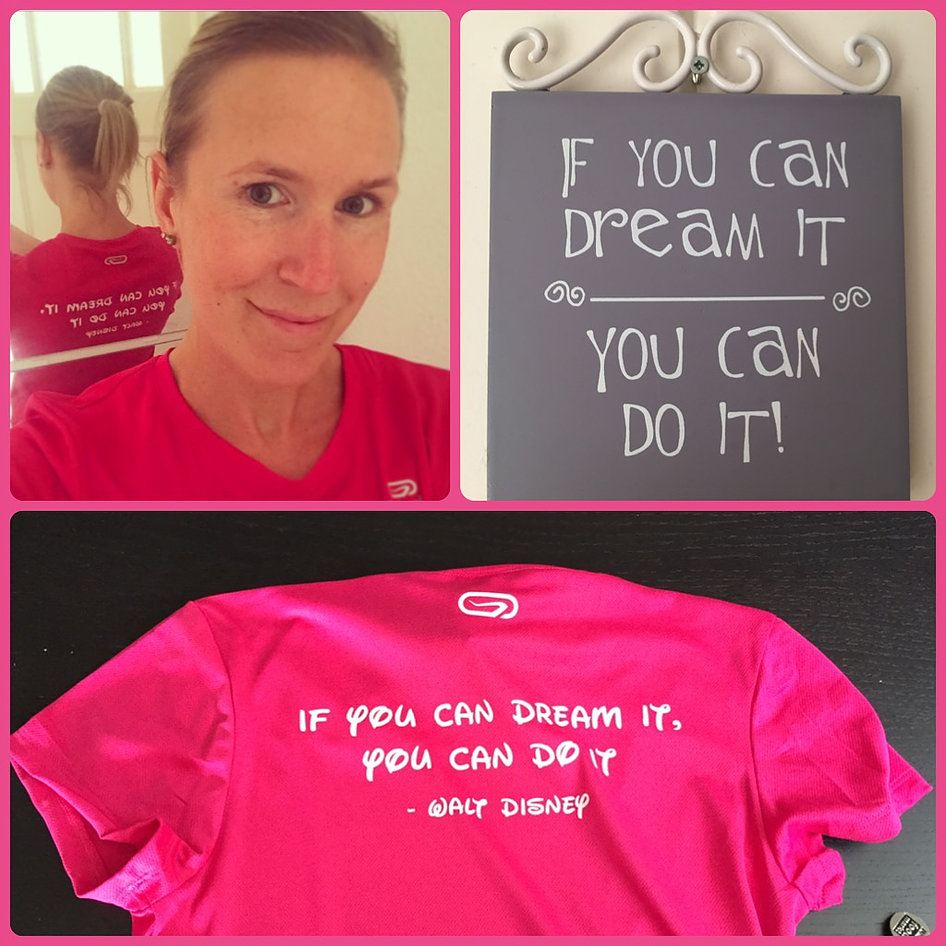 If you can dream it, you can do it: Disneyland Paris Half Marathon, here I come!