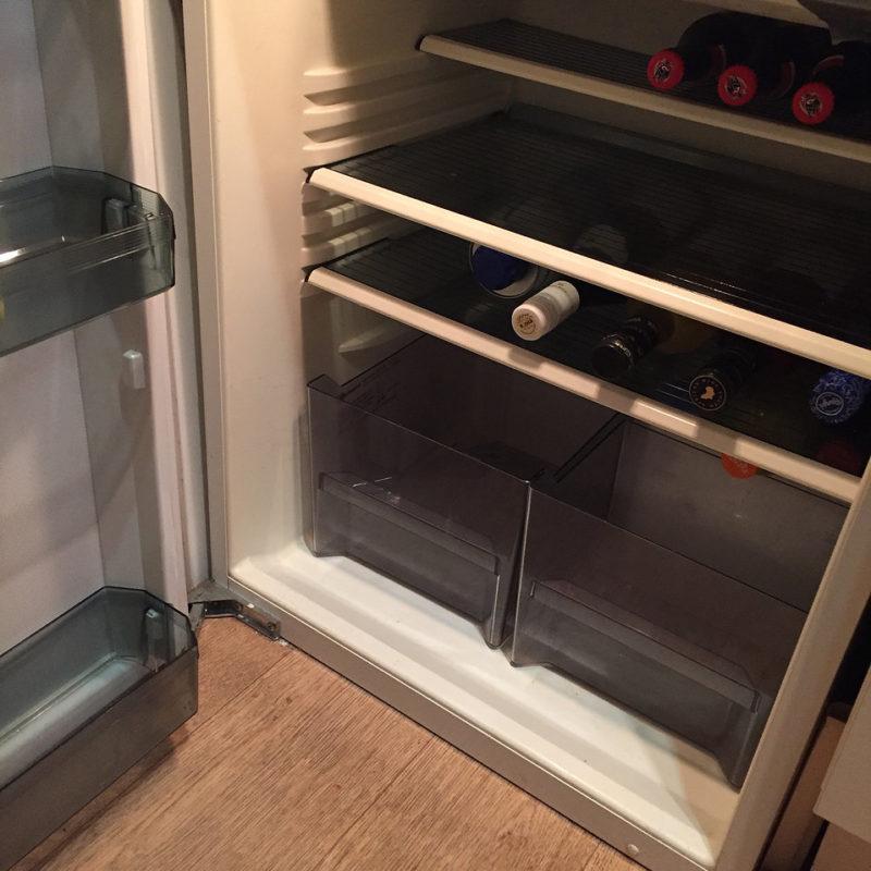 De koelkast leeg eten