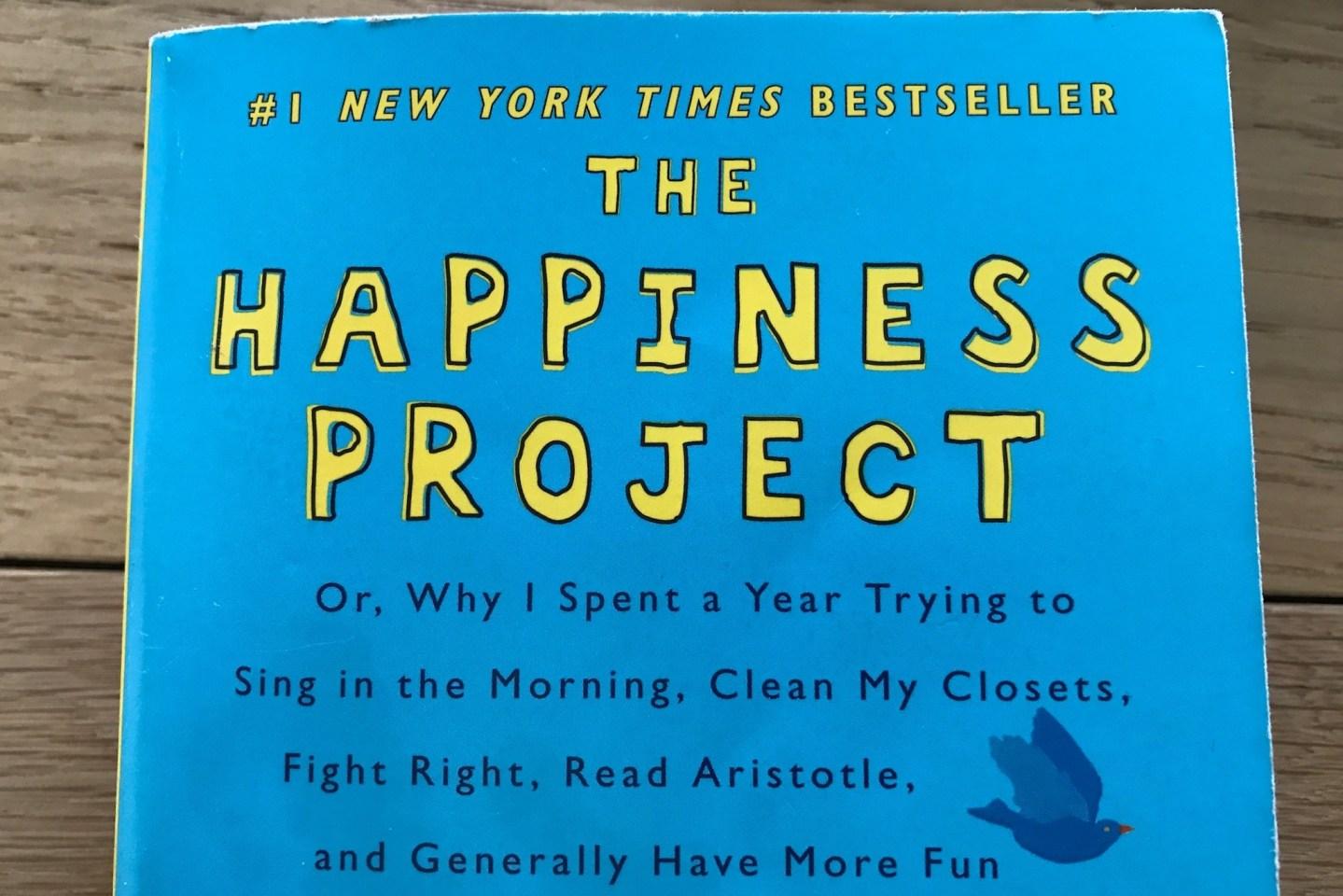 Mijn persoonlijke lessen uit The Happiness Project