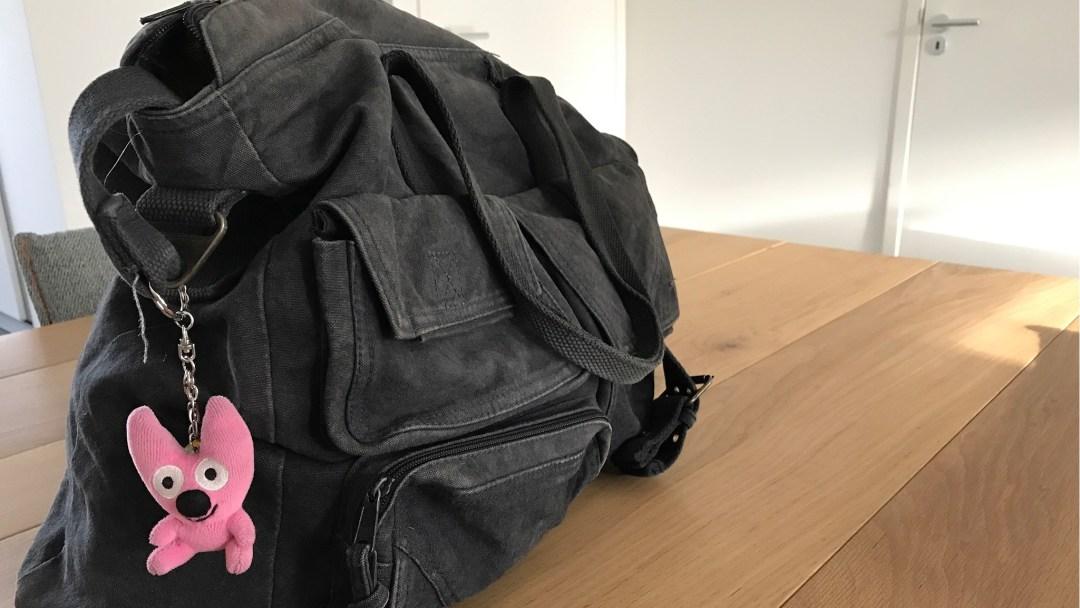 My faves: de handbagage tas vol herinneringen
