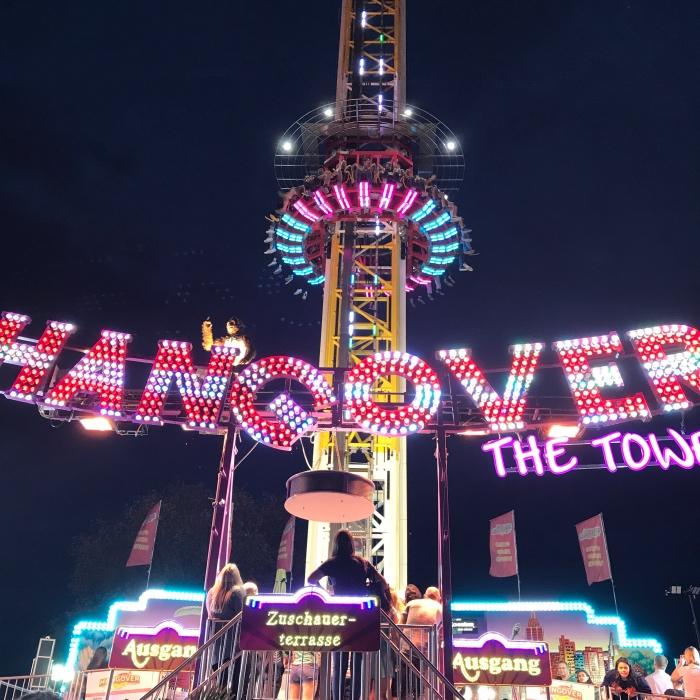 Hangover the Tower, attractie op de Duitse kermis
