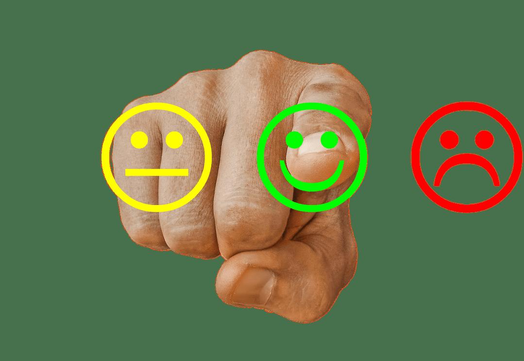 Review / enquete invullen tevredenheid