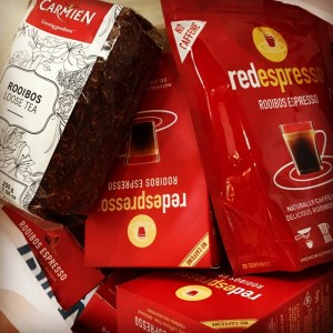 Red Espresso en Rooibos thee Zuid-Afrika souvenir