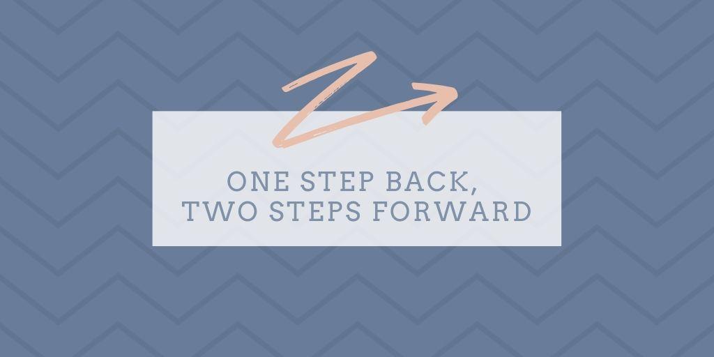 Project Bounce Back #4: en stapje terug & weer vooruit