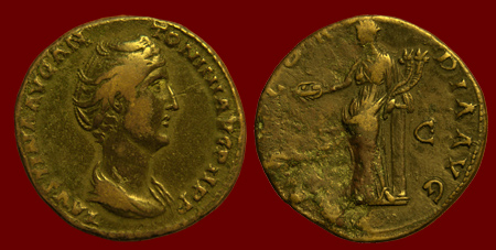 Image result for brass-based coins in Rome