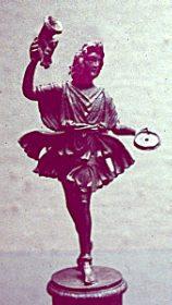 statuette of a lar