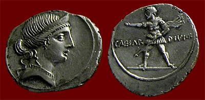 Octavian coin of Venus