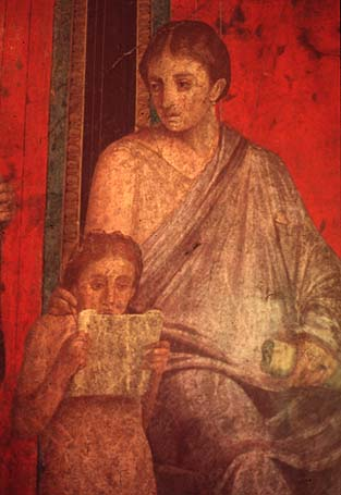 Roman Child with Parent