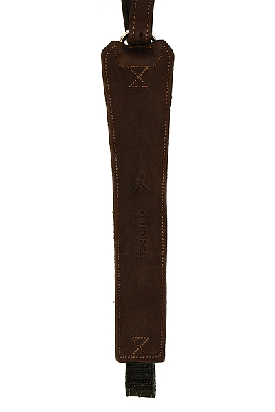 Freejump Stirrups Leathers Pro Grip in Brown