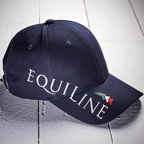 Equiline Logo Baseball Cap in Navy