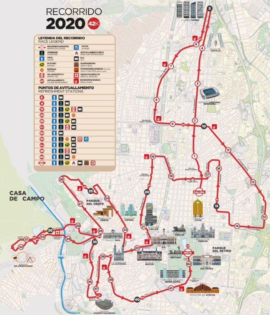 วิ่งรอบโลก : งานแข่งวิ่ง Rock 'n' Roll Madrid Marathon – ประเทศสเปน