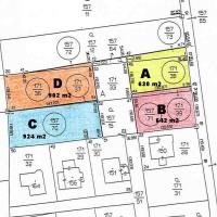 čtyři pozemky na prodej