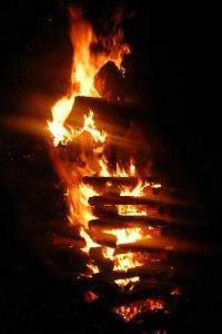 ilustrace: hranice na pálení čarodějnic