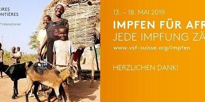 """Rekorderlös bei """"Impfen für Afrika"""" 2019"""