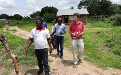 Unser Programmverantwortlicher für Westafrika, Christian Wirz war auf Mission in Togo