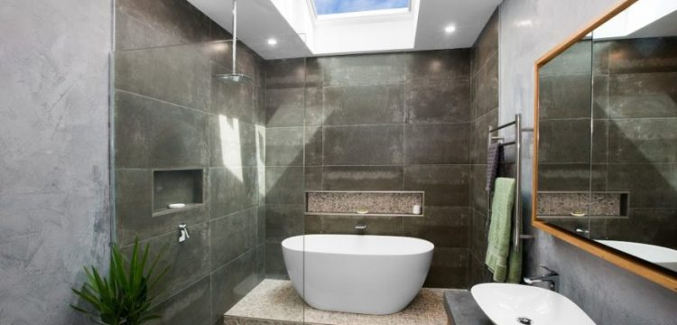 Velux Skylight in a Bathroom