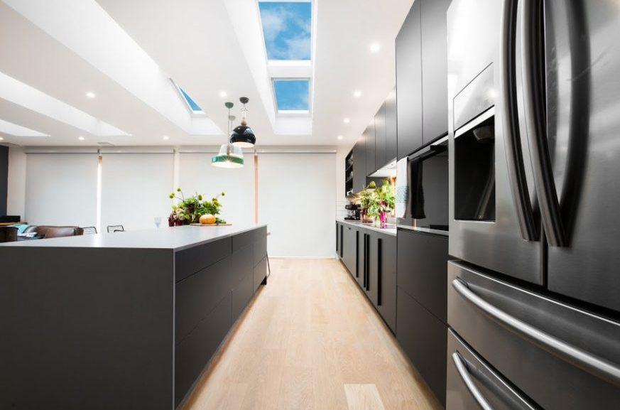 Put a Velux Skylight in your New Kitchen