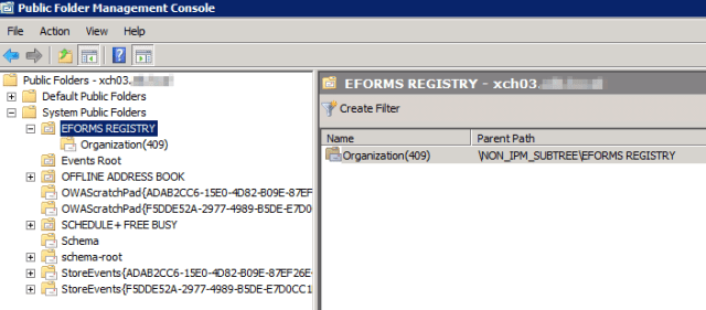 Exchange 2010 to Exchange 2013 Public Folder Migration