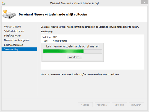 how to create vhd in windows 7