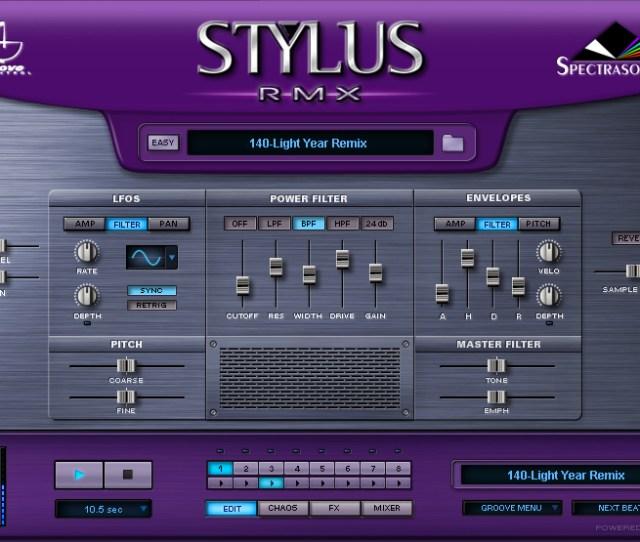 Spectrasonics Stylus Rmx V1 5 Vsti Rtas Au Hybrid Dvdr D2 Dynamics Softzone Org