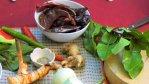 Ингредиенты для приготовления красной пасты карри