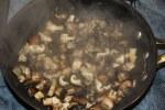 Готовти грибы для Arancini