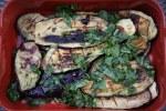Жареные на гриле кабачки