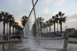 Фонтан-парусник на набережной Валенсии