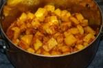 Процесс приготовления картофеля