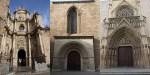 Разные ворота одного собора