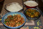 Индийский ужин