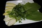 Овощи для летнего вьетнамского ролла