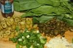 Набор овощей и трав для Путанеска