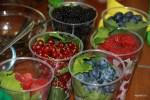 Свежие ягоды с Дорогомиловского рынка